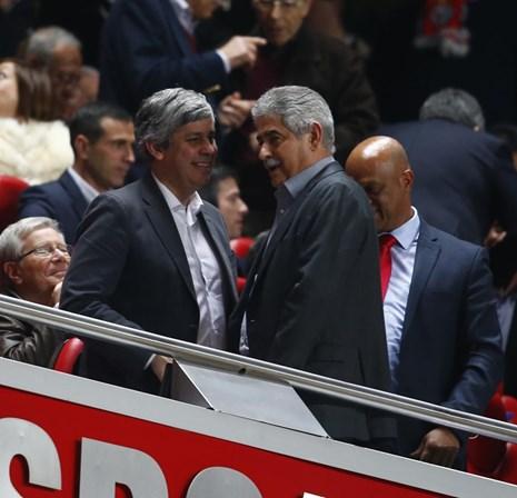 Centeno pediu dois lugares na bancada presidencial para ver jogo do Benfica