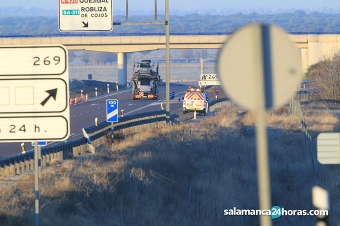 Vítimas de acidente em Salamanca são de Leiria e Peniche