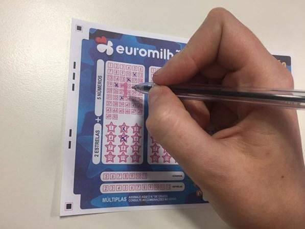 Primeiro prémio do Euromilhões saiu em Braga