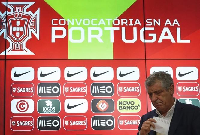 Fernando Santos revela convocados para os particulares com Egipto e Holanda