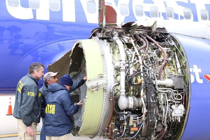 Mais um avião da Southwest Airlines aterra de emergência por janela partida