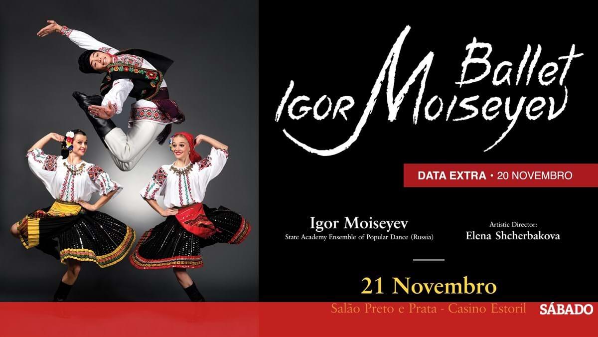 Ballet Igor Moiseyev, no Casino do Estoril - Revista Sábado