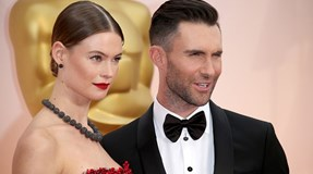 Adam Levine e Behati Prinsloo partilham foto da filha no Instagram